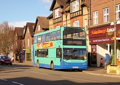 Southdown 133 (PM03EHV) - route 410 - Oxted (Alex-397) Tags: bus buses oxted surrey