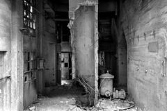 Civiltà perdute (Lo.Re.79) Tags: bw abandoned concrete decay emptyspaces exploration factory flik forgotten industry insdustrialdecay italy outdoor rotten rottenplaces urban urbex urbextourmarche2019