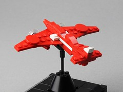 DH.88 Comet (Lasse Deleuran) Tags: lego airplane review book how