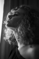 Details (vlkvaph) Tags: vscocam vsco canon6d canonukraine canon portrait face atmospheric atmosphere esthetic mood model female woman girl light darkness monochrome bw blackandwhite white black blackwhite beauty beautiful