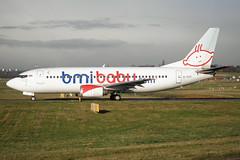 bmibaby Boeing 737-3Q8 G-TOYI BHX 16/12/11 (bhx_flights) Tags: bmibaby bhx egbb airport boeing boeing737 birmingham birminghamairport takeoff bmi
