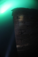 NorthWales-VivianQuarry-201802-18 (Tony J Gilbert) Tags: snowdonia llanberis northwales viviandivecentre vivianquarry mountsnowdon diving aquatic freshwater quarry floodedquarry nikon d300