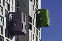 Colour Cubes (kirru611) Tags: vitoria gasteiz araba basquecountry euskalherria architecture arquitectura edificios building nikon d610 70210