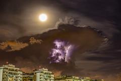 Moonlightning (Aisse Gaertner) Tags: canon 6d lightning moon night riodejaneiro