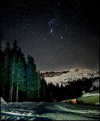 IT'S SNOWING STARS   -   ORION (J.P.B) Tags: orion cote2000 night longexposure rigel saïph bételgeuse bellatrixalnitak mintaka alnilam baudrierdorion mountain montagne megeve altiport オリオン 星座 orión арыён 猎户座 leica summilux24 aiguillescroches snow nuit leicam10 bammatter