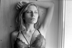 Arina (Dmitriy Protasov) Tags: filmphotography analoguephotography 35mm blackandwhite blackandwhitephotography boudoir boudoirphotography