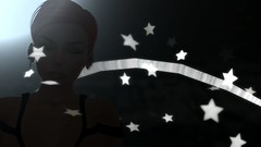 Sometimes I dream (Myra Wildmist) Tags: secondlife sl myrawildmist virtualart virtualphotography virtualworlds dreaming stars