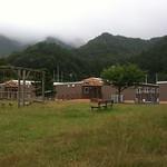 仮設住宅団地の写真
