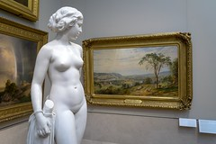 A Hope in the World (BenBuildsLego) Tags: museum metropolitan marble neoclassical classical sculpture statue stone art girl female woman nude desnuda beautiful amazing sony a6000 nyc new naked york city young youth breast breasts 19th century innocence innocent wallpaper