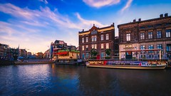 Colorful Amsterdam (Jim Nix / Nomadic Pursuits) Tags: jimnix nomadicpursuits travel hdr highdynamicrange amsterdam thenetherlands holland nikon d700 aurorahdr2019 skylum luminar cityscape canal