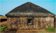 """The hardest prison to escape is in your mind."" (Ramalakshmi Rajan) Tags: bekalfort bekal travel tourism nikon nikond5000 nikkor18140mm kerala keralatourism india lifeinindia history"