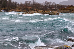 Rough weather today (Frode....) Tags: husby ocean tomma landskap fjære helgeland coast weather landscape sea nesna nordland norway no