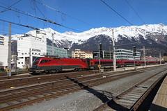 ÖBB 1116 218-9 Railjet, Innsbruck Hbf (TaurusES64U4) Tags: öbb 1116 railjet