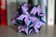 Poinsettia (talina_78) Tags: kusudama origami