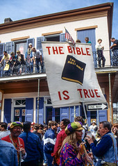 True (Jonathan Sharpe photographer) Tags: neworleans frenchquarter nola claiborne avenuepostcardscentral business districtthe bible is truenew orleans mardi grascarnival timenew street musicians