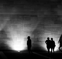 El muro, Santiago de Chile (Mario Rivera Cayupi) Tags: blancoynegro bw noche night arte carlzeisslens planart1450 canon80d santiagodechile serieart