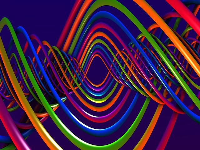 Обои спираль, сплетение, разноцветный картинки на рабочий стол, фото скачать бесплатно