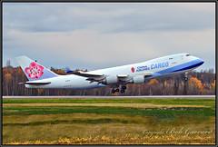 B-18710 China Airlines Cargo (Bob Garrard) Tags: b18710 china airlines cargo boeing 747 anc panc