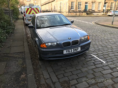 2001 BMW 320 2.2L Y63 DNP (Old Car Hunter) Tags: bmw 3 series 320 22l 2001