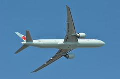 AC0855 LHR-YVR (A380spotter) Tags: takeoff departure climb climbout bank banking turn belly boeing 777 300er cfkau ship749 aircanada aca ac ac0855 lhryvr runway09r 09r london heathrow egll lhr