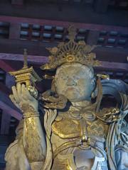 Bishomon Guardian Statue (tom_2014) Tags: bishomon statue bishomonstatue art architecture nara japan japanese asia asian eastasia famous landmark travel unesco worldheritagesite worldheritage history old heritage yamato yamatoplain kansai temple todaijitemple todaiji standingbishomon guardian templeguardian buddha buddhist buddhisttemple buddhistart