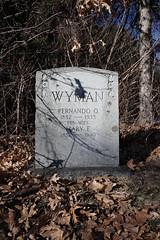 Old Town Cemetery (NewEnglandGravestones) Tags: old town cemetery rollinsford nh graves gravestone gravestones new hampshire paranormal strafford county headstone headstones