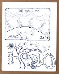DP s.121 to 014 (feck_aRt_post) Tags: dp dailypractice doodle drawing notebook