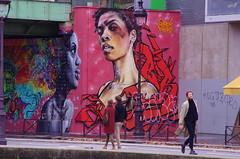 51 Paris décembre 2018 - au bout du Bassin de La Villette (paspog) Tags: paris france bassindelavillette streetart graffitis tags mural murals fresque fresques décembre december dezember 2018