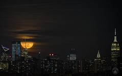 Rising Moon over NYC ! (cyberdoctorind) Tags: ifttt 500px cityscape new york city skyline downtown district skyscraper