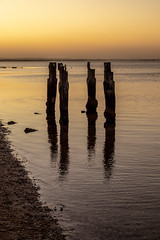 Clifton Springs Sunset-3 (Quick Shot Photos) Tags: bellarine canon cliftonsprings jetty oldpier sunset victoria australia au