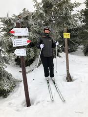 Cross roads (piotr_szymanek) Tags: marzka woman milf outdoor portrait sport face eyesoncamera ski crosscountry crossroads mountains winter snow tree 1k 5k 10k 20f