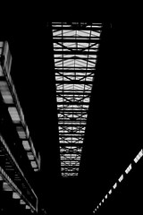 Turbine Hall roof at Tate Modern (Lawman2006) Tags: turbine hall tate modern london art black white