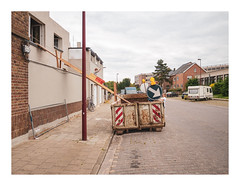 170726_163537_oly-PEN-f_oostende_the crystal ship 53/55 (A Is To B As B Is To C) Tags: aistobasbistoc b belgië belgium oostende ostend city cityscape street streetphotography people container construction diy dhz putyourhandsup slide children kid sidewalk sign thecrystalship walk olympus penf color blauwkasteelstraat