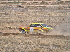 On the track 3 sm (ozbuglady) Tags: escort ford carr car iyk000 john hadden helen