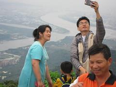 IMG_5921 (kenner116) Tags: 台灣 taiwan 新北 newtaipei 觀音山 guanyinshan guanyinmountain 硬漢嶺 淡水河 danshuiriver tamsuiriver