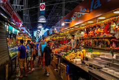 Spain - Barcelona - Mercado de La Boqueria (andrei.leontev) Tags: barcelona barcelone spain espagne mercado la boqueria markthallen españa mercadodesanjosé marché
