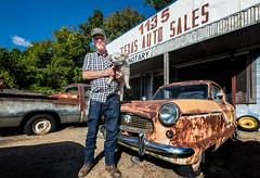 Honest Charles and Scruffy (rick reichenbach) Tags: autosales junkyard shreveport louisiana