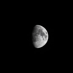 Waxing Gibbous - 73.6% - 14-04-19 (dalejckelly) Tags: canon canon7dmarkii canon100400f4556lisusm moon lunar lunarphases waxinggibbous astrophotography astronomy astro nightsky