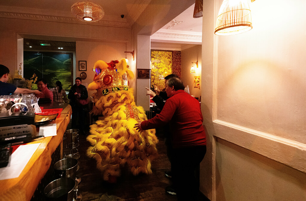 I WAS INVITED TO THE LUNAR NEW YEAR CELEBRATION AT MR. DINH ON CAPEL STREET [ THE YEAR OF THE PIG]-148710