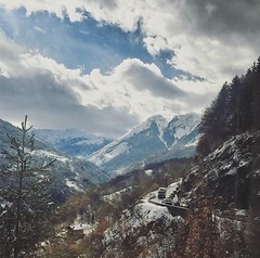 Driving back from the French Alps. (kzakariya307) Tags: ~lovephotography~ naturephotography nature montains frenchalps photography