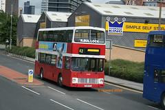 Stagecoach Manchester 14439 (F239 YTJ) (SelmerOrSelnec) Tags: stagecoachmanchester leyland olympian alexander rtype f239ytj manchester ardwick hyderoad bullock bus
