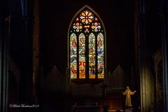 Basilica di San Francesco alla Rocca (Michele Monteleone) Tags: viterbo tuscia arte architettura chiesa basilica altare vetrata policromo michelemonteleone canon 5dmarkiii