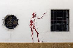 on the wall | málaga | españa (John FotoHouse) Tags: malaga españa spain travel 2018 dolan flickr fujifilmx100s fuji johnfotohouse johndolan leedsflickrgroup copyrightjdolan streetart