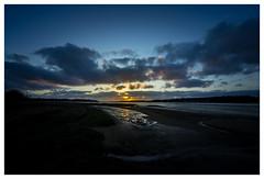 Sunrise over Nacton Shores... (Steven Allen2013) Tags: bluehour nacton nactonshores suffolk ipswich blue moody dark clouds light slither dawn river sunrise