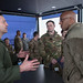 3rd Wing commander, discusses JBER' s mission capabilities with Pacific Air Forces commander