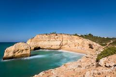 Praia do Carvalho, Algarve (thethomsn) Tags: algarve portugal beaches beach longexposure day water atlantic rocks cliff coast praiadocarvalho carvalhobeach thethomsn