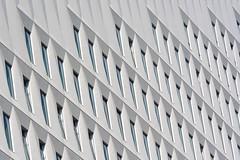 Abstract Facade (Jan van der Wolf) Tags: map14646v denhaag gevel gebouw facade abstract architecture architectuur windows ramen monochrome monochroom modernarchitecture white wit patatzak
