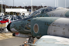 F-4 Phantom II (Matthias Harbers) Tags: airport sky light colors photoshop elements topaz living life impression dxo pro labs lights airplane flight haneda japan nikon sigma 50500mm d750 ibarakiairport hyakuriairbase japanairselfdefenseforce