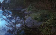 Cornerstone Pool (jvde) Tags: 3570mmf3345nikkor burnaby coolscan film fujicolor400 gimp nikonfe sfu