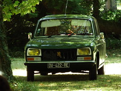 Peugeot 304 Berline Richelieu (37 Indre et Loire) 02-09-18a (mugicalin) Tags: fujifilm fujifilmfinepix fujifilmfinepixs1 s1 finepixs1 finepix peugeot peugeotcar peugeotclassic 304 peugeot304 frenchcar classiccar dv 422 re 37 indreetloire 2019 greencar voitureverte années70 youngtimer 10fav 20fav